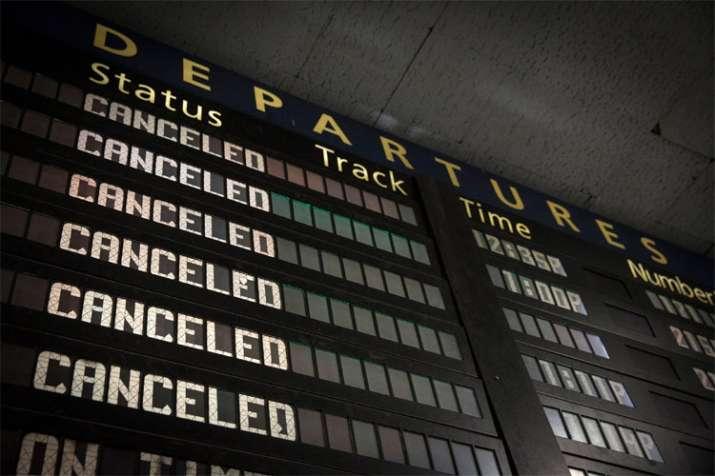 train Canceled- India TV