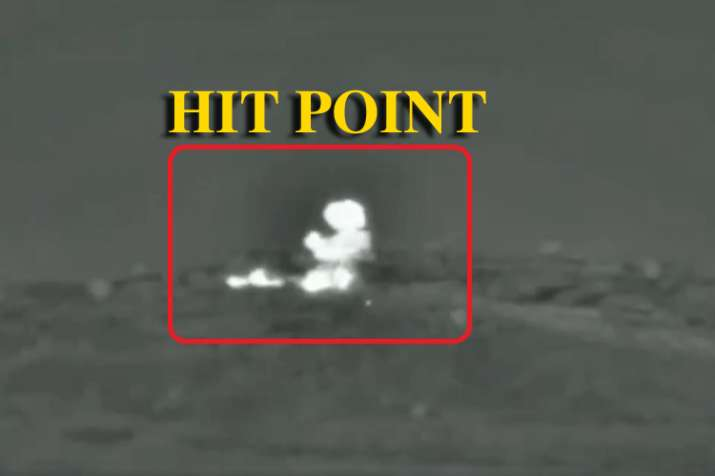 Image took from video released by IDF.- India TV