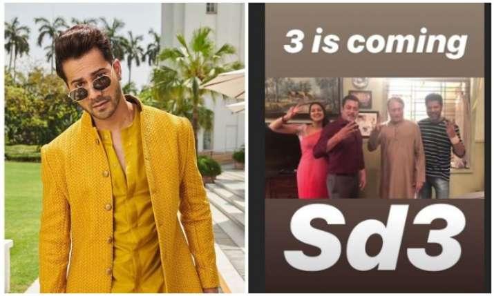 Varun dhawan promote Street Dancer- India TV