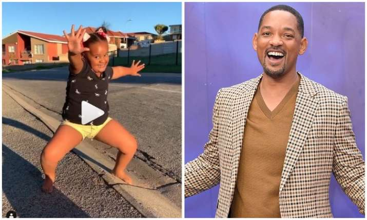 Will smith share dance video- India TV