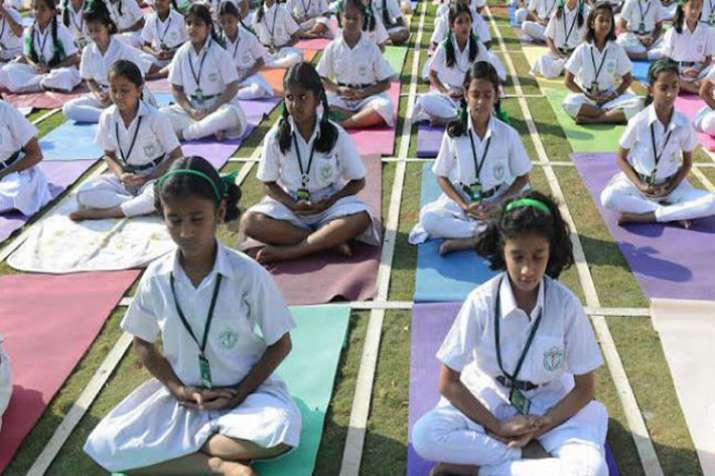 Proposal sent to HRD to add Yoga in educational curriculum: Shripad Naik- India TV