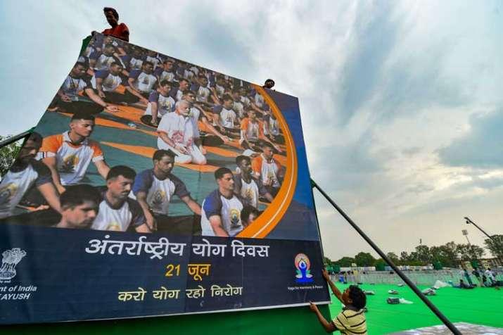 International Yoga Day in Ranchi- India TV
