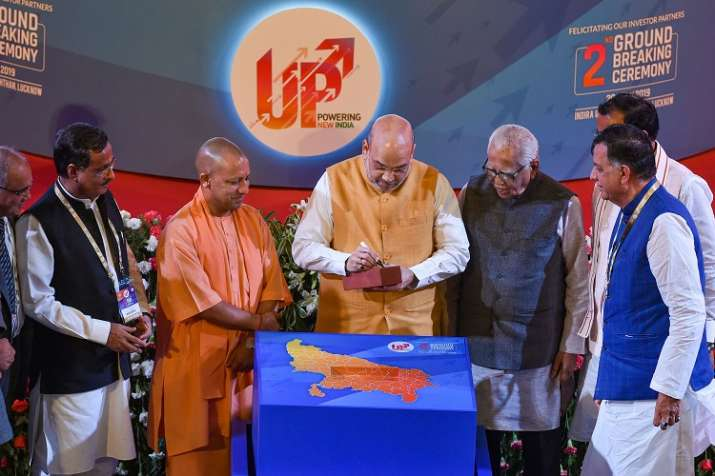 2nd ground breaking ceremony up cm yogi adityanath says on 5 trillion indian economy and will give - India TV Paisa