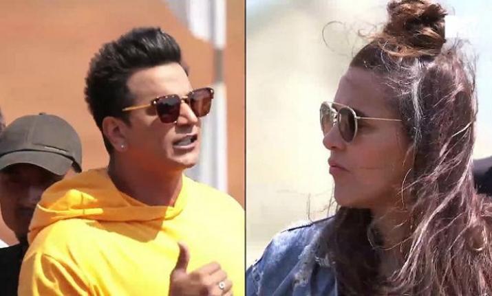 Prince Narula and Neha dhupia- India TV
