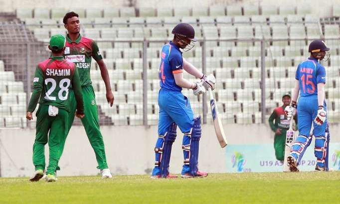 India u19 vs Bangladesh u19- India TV