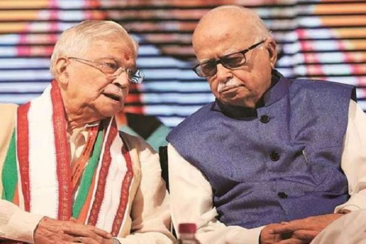 Murli manohar Joshi and Lal Krishna Advani- India TV