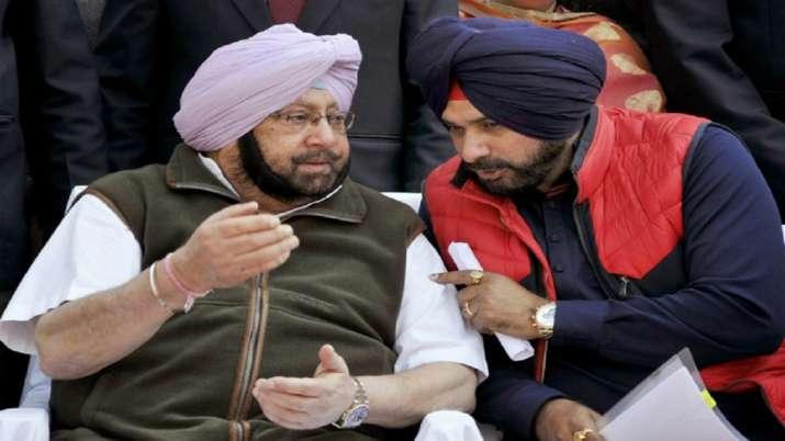 Punjab CM Captain Amarinder Singh accepts Navjot Singh...- India TV