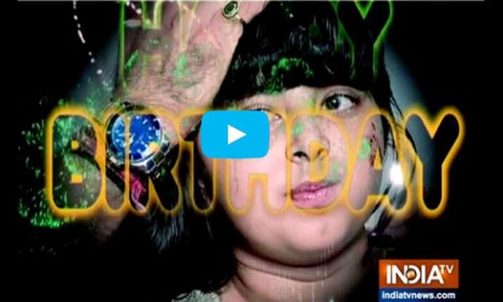 Amyrah from Kulffi Kumarr Bajewala- India TV