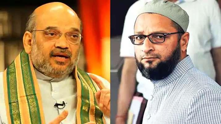 Amit Shah targets Asaduddin Owaisi in Lok Sabha- India TV