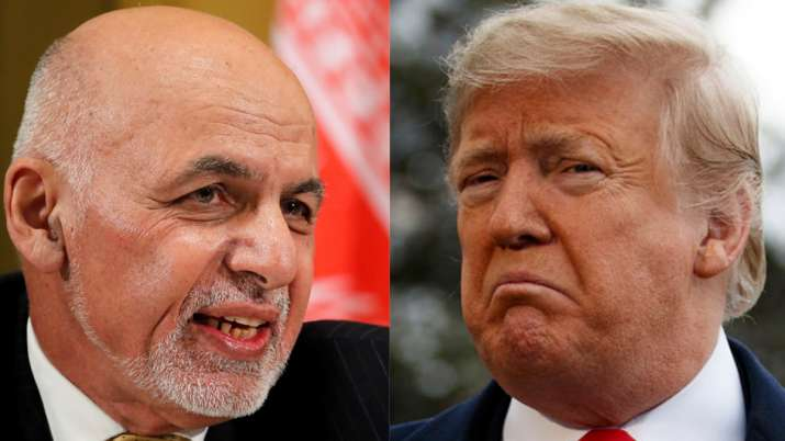 Ashraf Ghani and Donald Trump | AP Photos- India TV