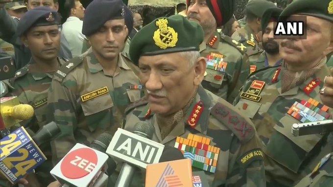 दोबारा कारगिल की कोशिश न करे पाकिस्तान, जनरल बिपिन रावत की चेतावनी- India TV
