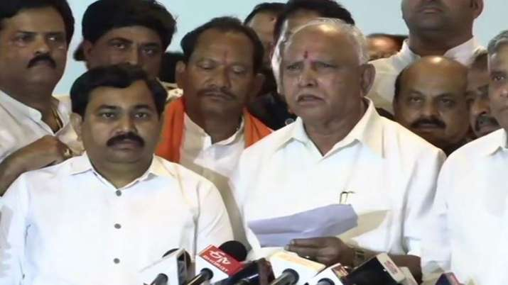 Karnataka BJP says Its Game of Karma after H D Kumaraswamy looses trust vote- India TV