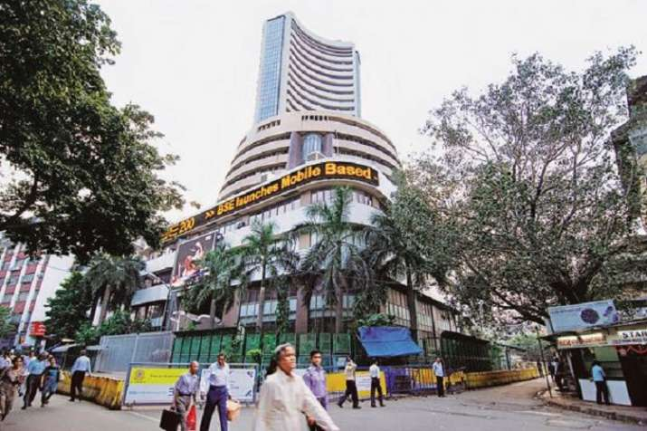 stock market Sensex down by 432.48 points and Nifty down by 125.35 points- India TV Paisa