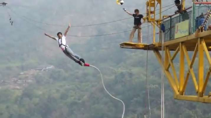 bungee jumping- India TV