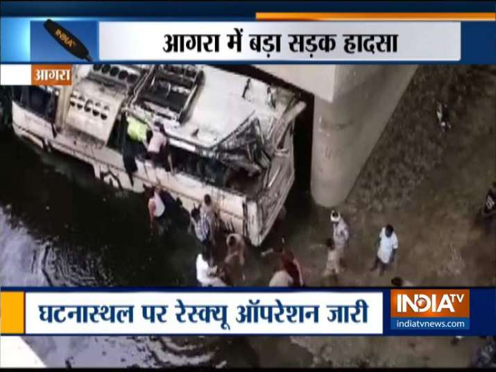 Bus Accident- India TV