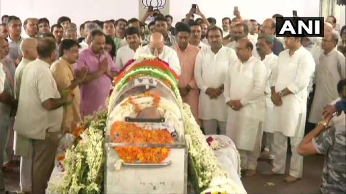 Former Delhi BJP chief Mange Ram Garg passes away- India TV