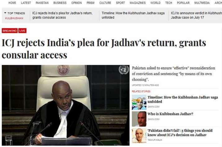 Pakistani Media- India TV