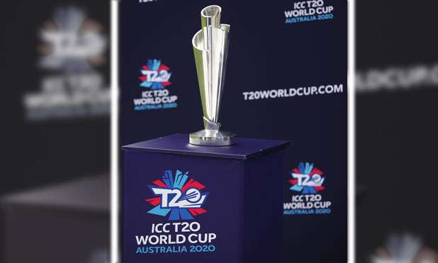 2020 ICC World Cup Trophy- India TV