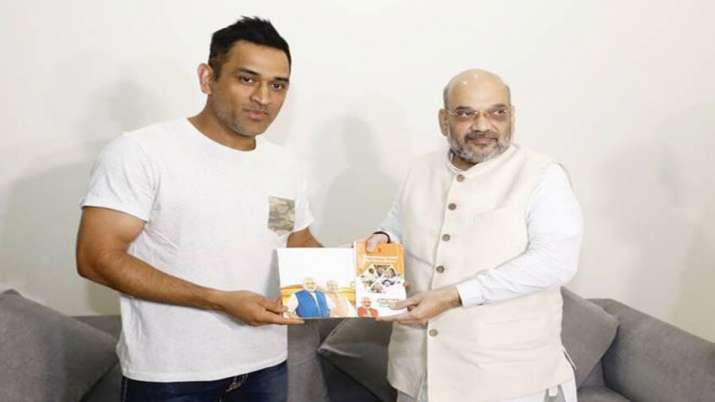 Dhoni to join BJP?- India TV
