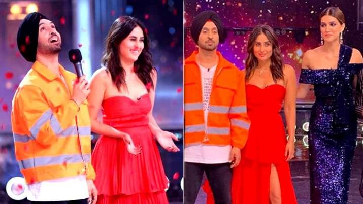 Diljit Dosanjh and Kareena Kapoor Khan- India TV