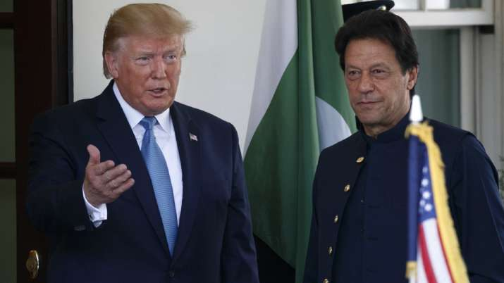 Imran Khan a great athlete and a very popular PM, says Donald Trump | AP- India TV