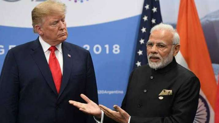 Donald Trump and Narendra Modi| AP Photo- India TV