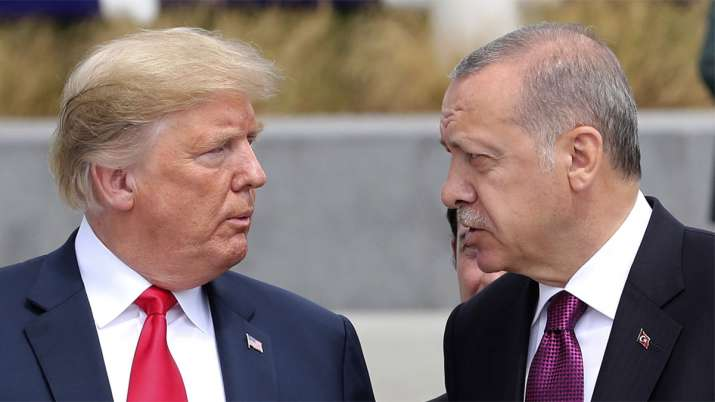 Donald Trump and Recep Tayyip Erdogan | AP File Photo- India TV