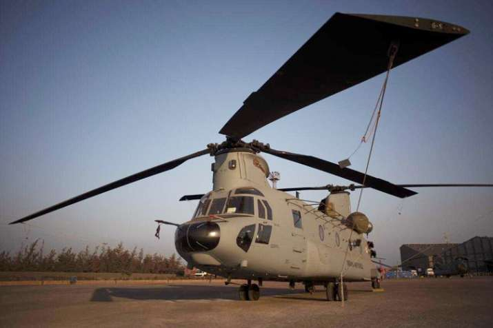 Boeing announced the arrival of two more CH-47F (I)...- India TV
