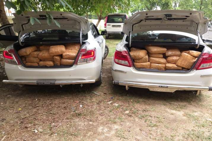 UP STF arrested 7 smuggler and recovered drugs wroth of 2 cr- India TV