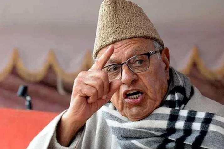 धारा 370 पर फारुक अब्दुल्ला का बड़ा बयान, जम्मू-कश्मीर के विलय को बताया अस्थाई- India TV