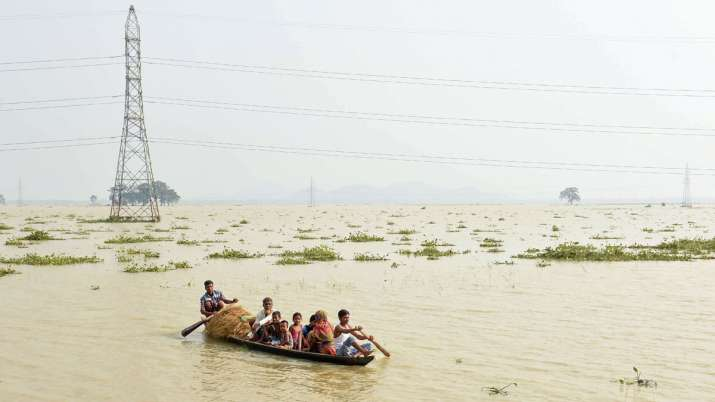 Death count due floods in Assam, Bihar nears 150; over 1.15 crore affected- India TV