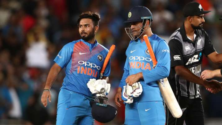 Rishabh Pant and MS Dhoni- India TV