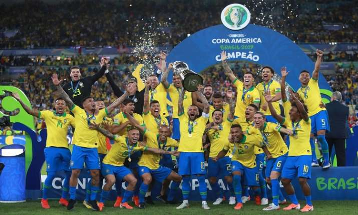 ब्राजील 9वीं बार बना...- India TV