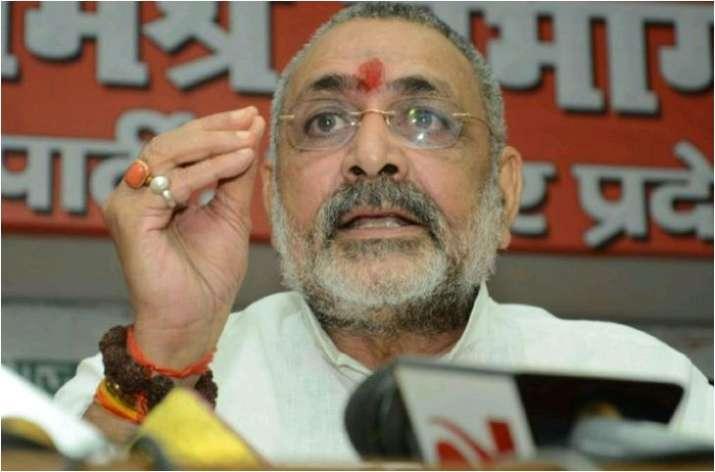 जनसंख्या पर गिरिराज सिंह का विवादित बयान, कहा- विभाजन की ओर बढ़ रहा देश- India TV
