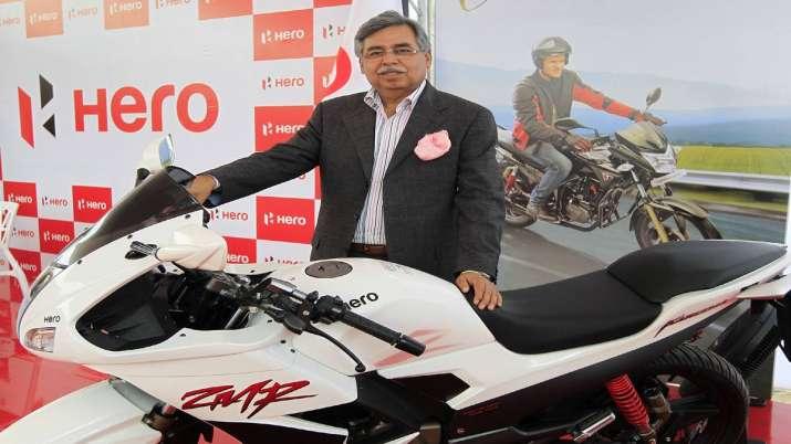 Hero MotoCorp Q1 net up 36 pc at Rs 1,257 cr- India TV Paisa