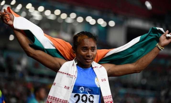 स्टार एथलीट हिमा दास...- India TV