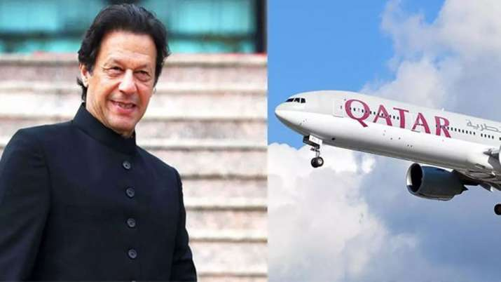 PM Imran departs for 3-day America trip on commercial Qatar Airways flight- India TV