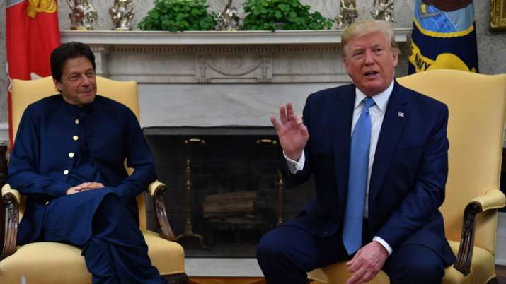 Imran Khan thanks Donald Trump for understanding Pakistan's point of view- India TV