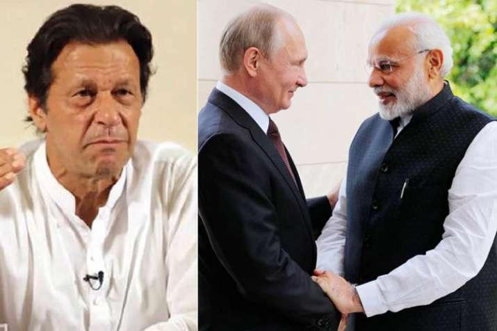 Imran Khan, Vladimir Putin and Narendra Modi | AP File- India TV