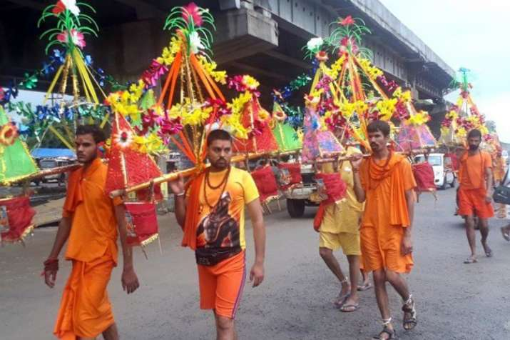 kanwar yatra- India TV