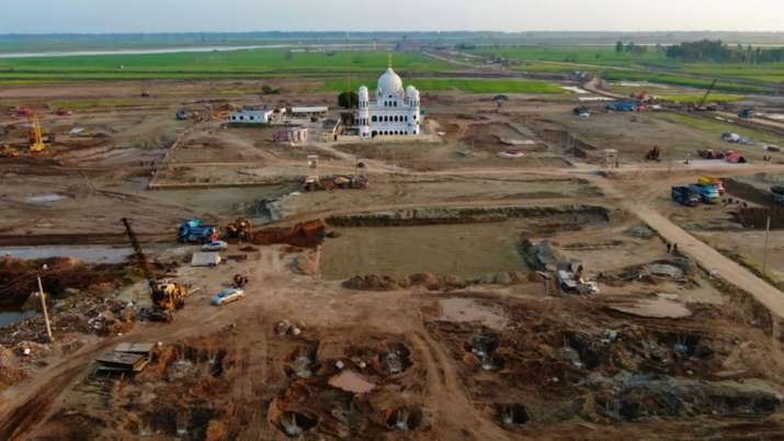 Kartarpur Corridor project enters in its final phase of completion- India TV