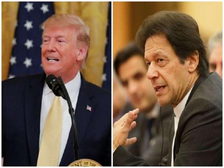 Donald Trump Imran Khan Meeting- India TV