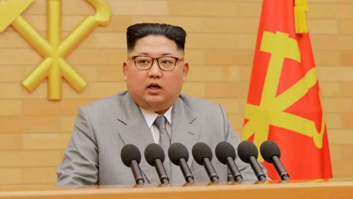 North Korean leader Kim Jong Un votes in elections with 99.98% turnout | AP File- India TV