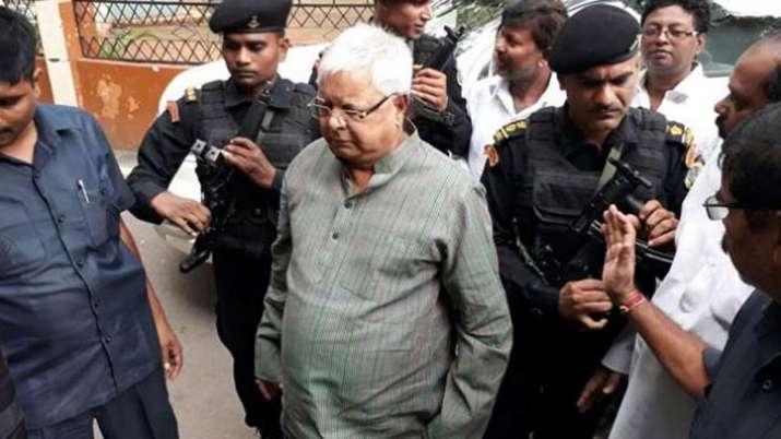No More CRPF security cover for Lalu Yadav, Home Ministry drops him from central list- India TV