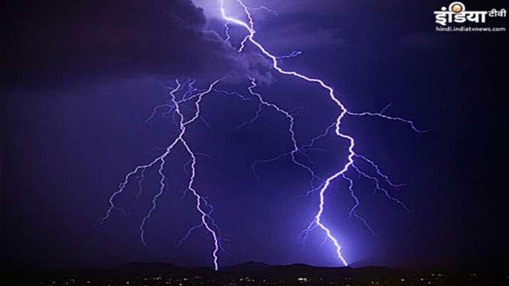 Lightning Strike- India TV