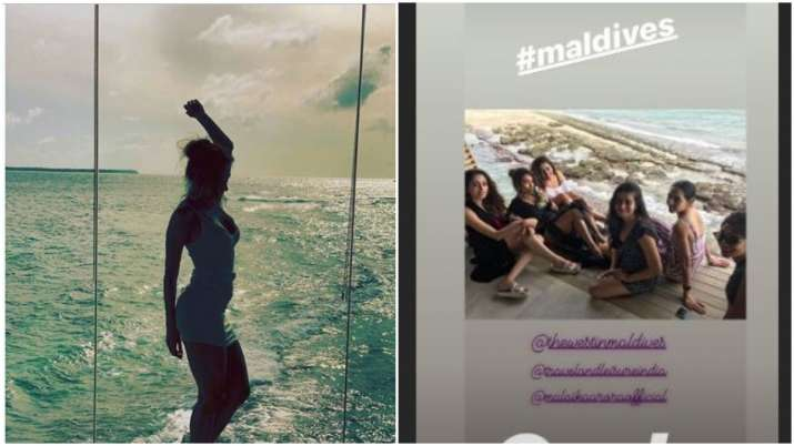 Malaika arora maldives vacation- India TV