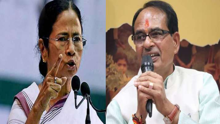 Mamata Banerjee and Shivraj Singh Chouhan - India TV