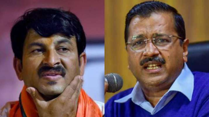 Manoj Tiwari & Arvind Kejriwal- India TV