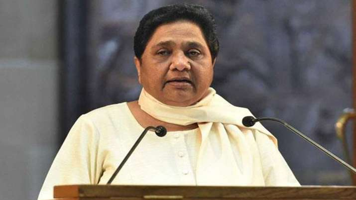 Mayawati reaction on Donald Trumps statement on Kashmir issue- India TV