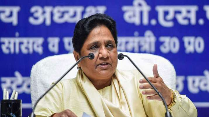 Mayawati targets BJP after Congress JDS government looses trust vote- India TV